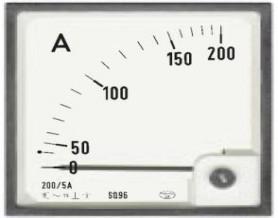 آمپر متر تابلويي 150A اصلی
